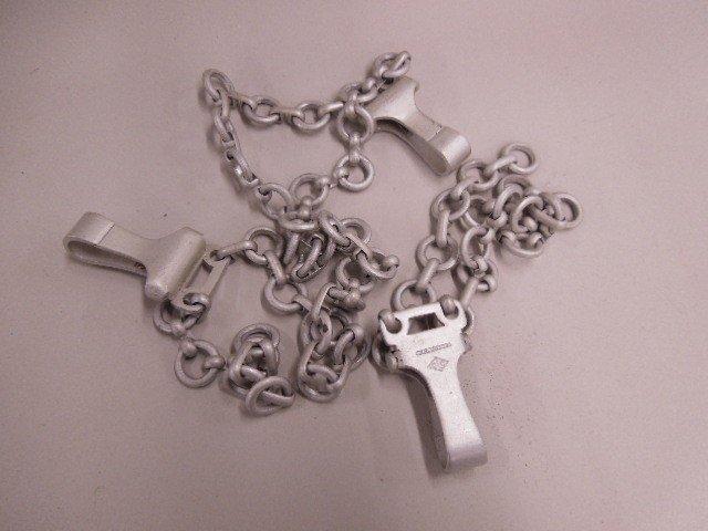 3 German Dagger Aluminum Chains