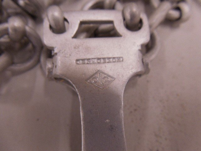 3 German Dagger Aluminum Chains - 2