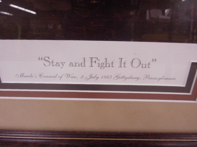 """Stay and Fight It Out"" Framed Print - 3"