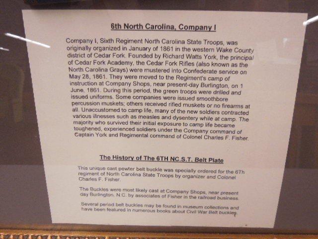 Civil War N.C. Regiment Jacket - 5