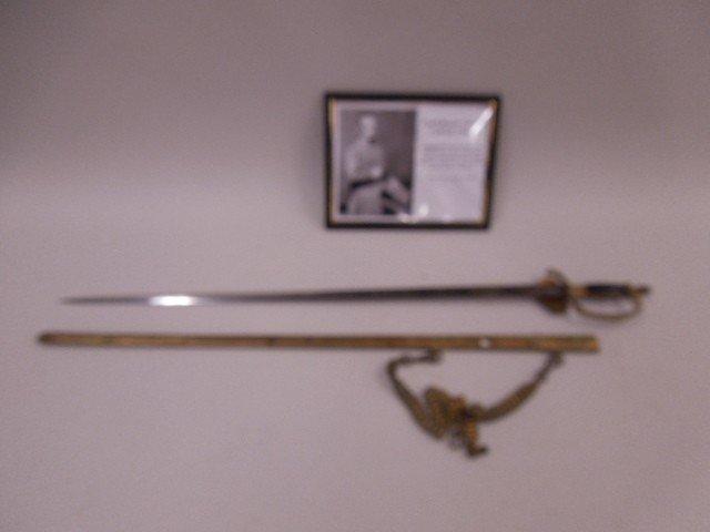Confederate General Gabriel James Rains Sword