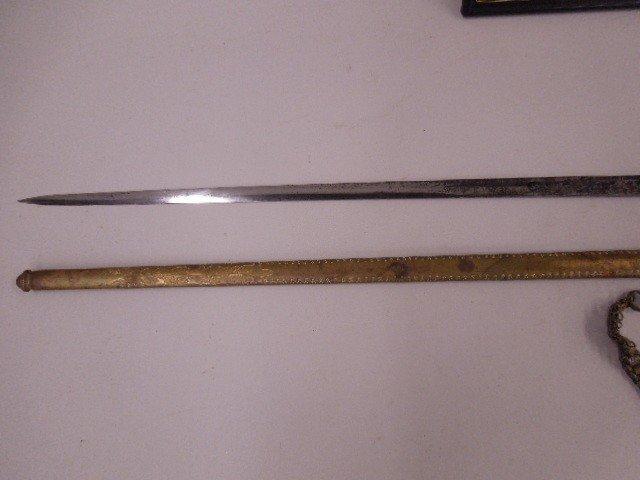 Confederate General Gabriel James Rains Sword - 5
