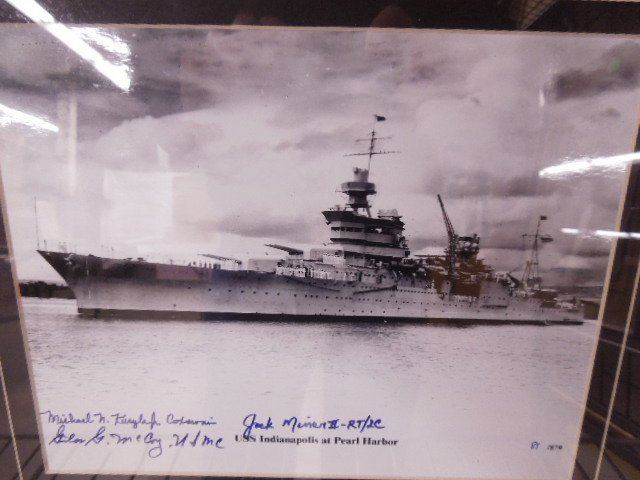 "Franklin Mint ""USS Indianapolis Pearl Harbor"" Photo - 4"