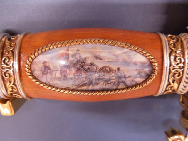 Franklin Mint Battle of Fredericksburg Comm Knife - 3