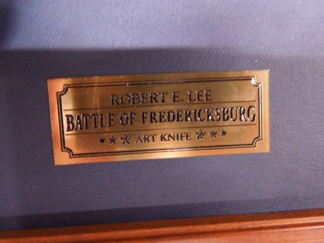 Franklin Mint Battle of Fredericksburg Comm Knife - 5