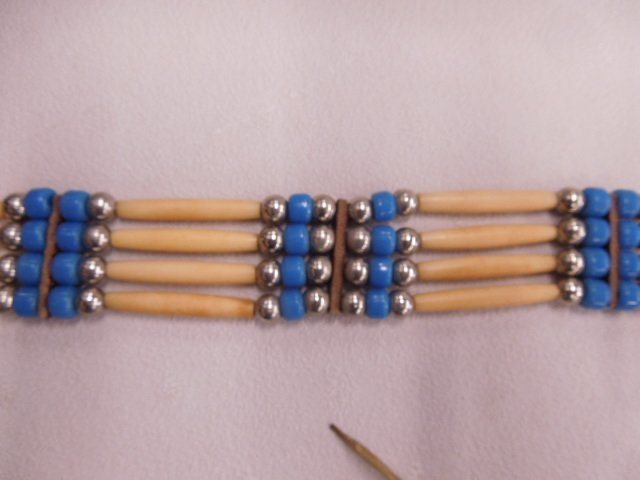 Native American Indian Choker Necklace - 2