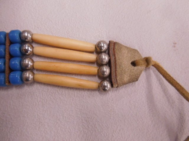 Native American Indian Choker Necklace - 3