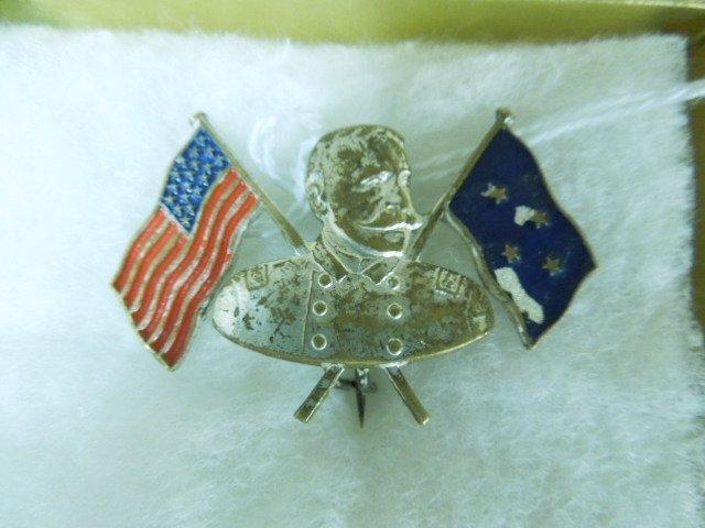 Civil War General George B. McClellan's Badge.