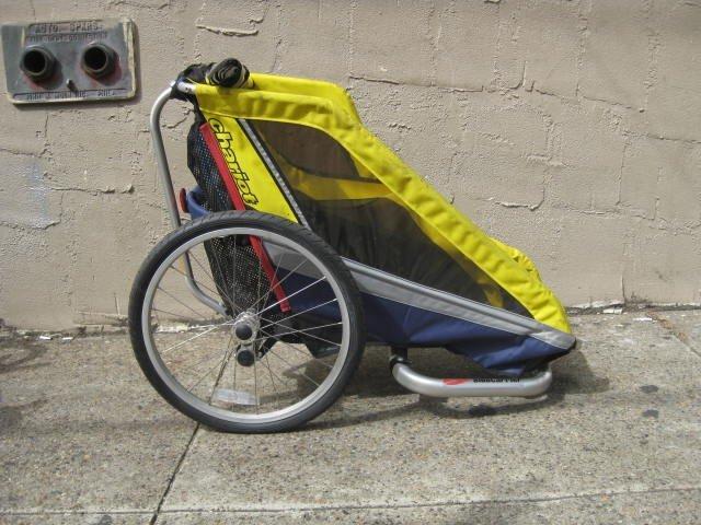 Sidecar bicycle trailer