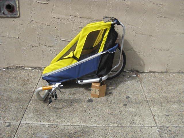 Sidecar bicycle trailer - 2
