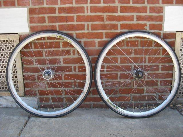 Shimano Dura Ace Pista wheelset