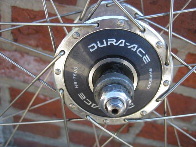 Shimano Dura Ace Pista wheelset - 2