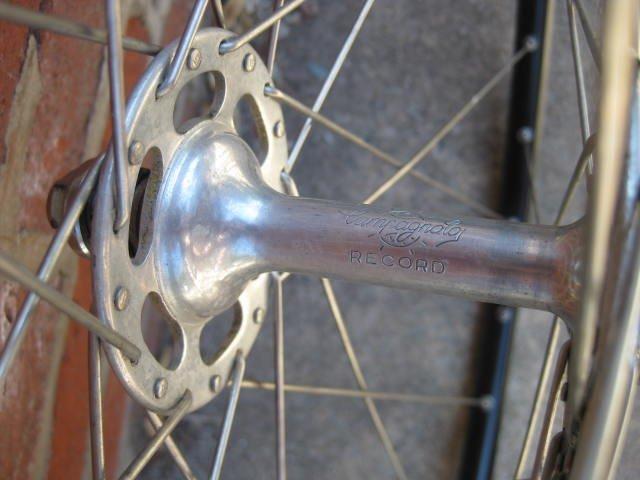 Campagnolo Nuovo Record pista wheelset - 2
