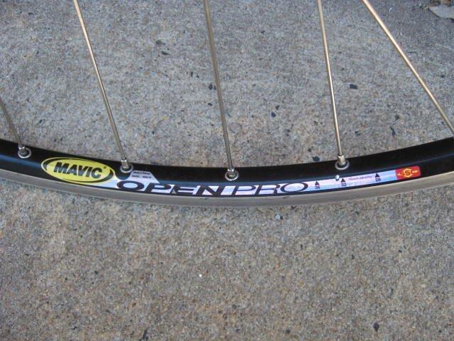 Campagnolo Nuovo Record pista wheelset - 4