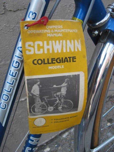1980 Schwinn Collegiate ladies 3 speed - 4