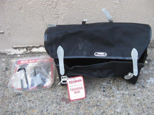 Large Schwinn Approved Canvas saddle bag