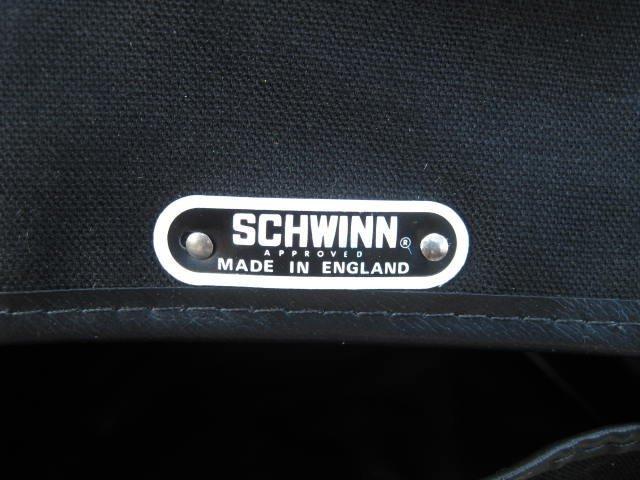 Large Schwinn Approved Canvas saddle bag - 2