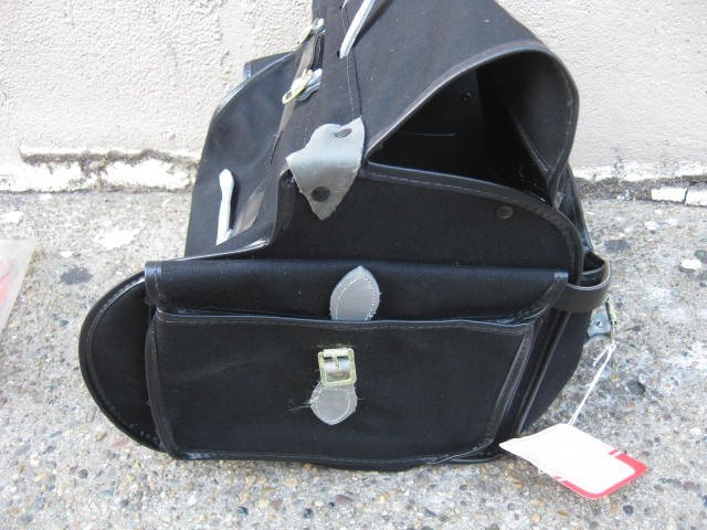 Large Schwinn Approved Canvas saddle bag - 5