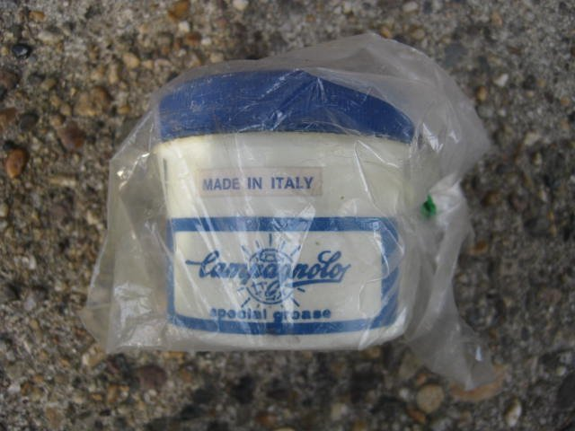 Small Campagnolo Special Grease tub, new old stock