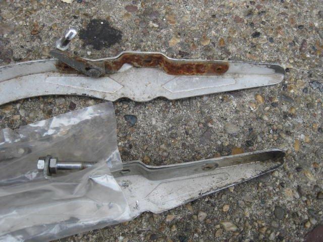 Lot of 2 Simplex aluminum chainguards - 5