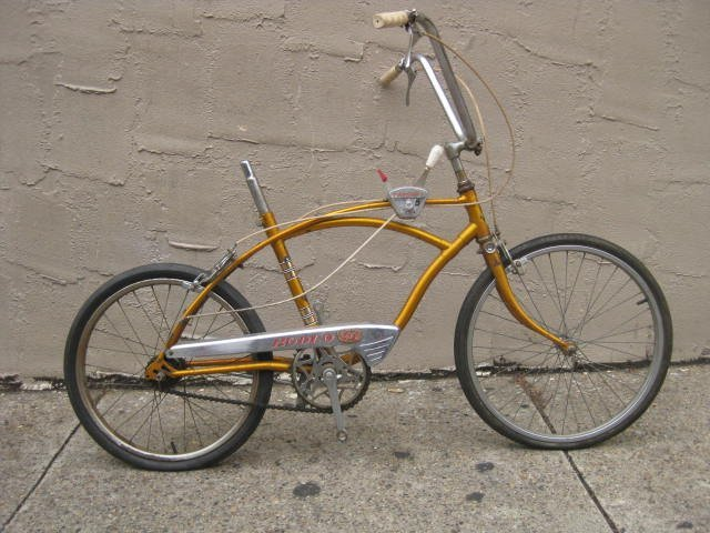 Mid to late 1960's Raleigh Rodeo muscle bike
