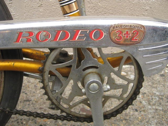Mid to late 1960's Raleigh Rodeo muscle bike - 4
