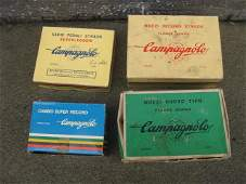 1970s  80s lot of 4 empty Campagnolo boxes
