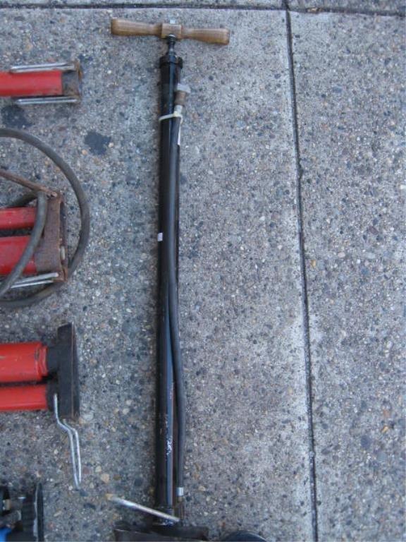 Lot of 9 floor pumps - 4