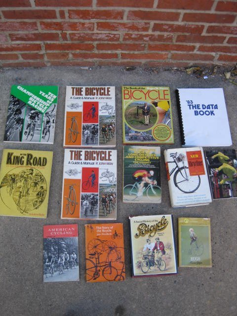 Lot of 13 cycling books