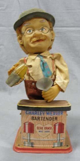 1010: Charlie Weaver Bartender tin