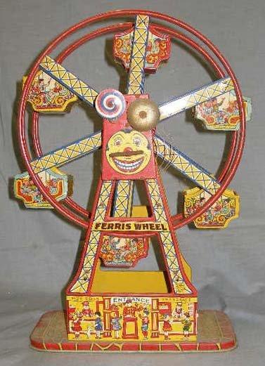1013: Ferris Wheel Wind up to by Chein