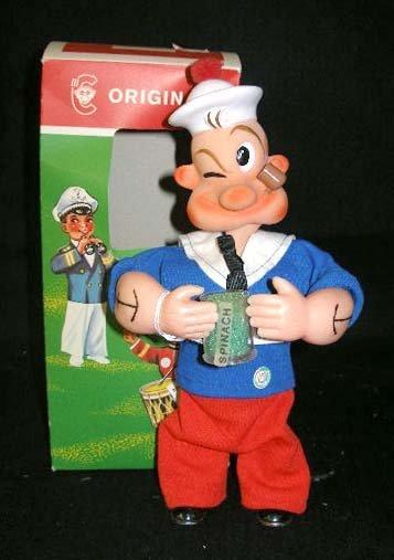 1014: Wind up Popeye figure