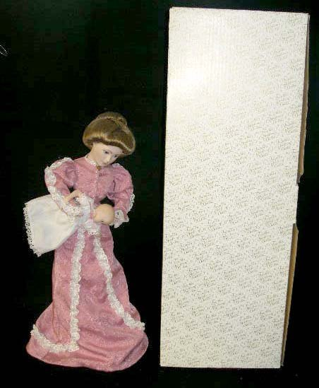 """1024: Franklin Heirloom Doll """"A Mother's Love"""" by Irene"""