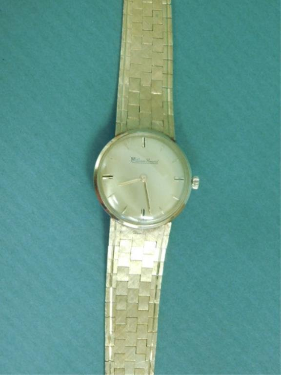 Man's Vintage 14K yg Lucien Picard Watch