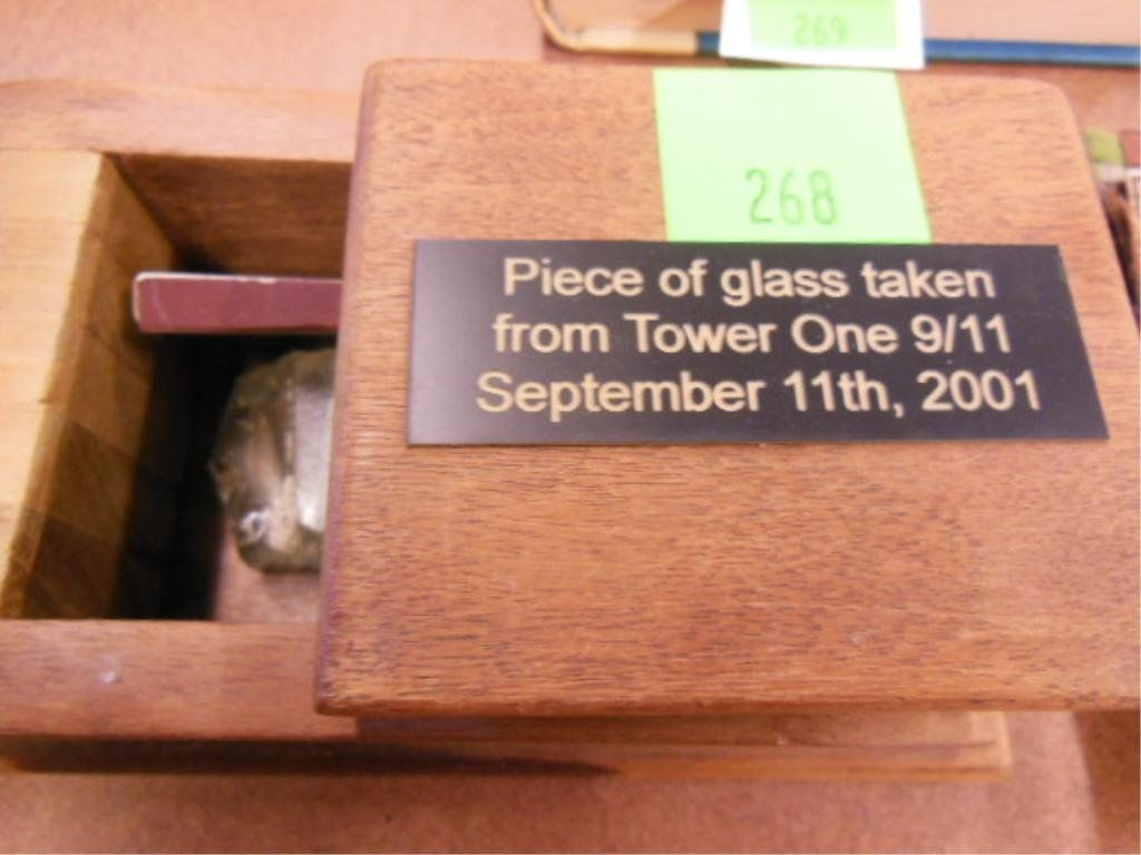 Glass From World Trade Center 9/11