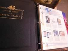 4 Binders US Postage Satmps