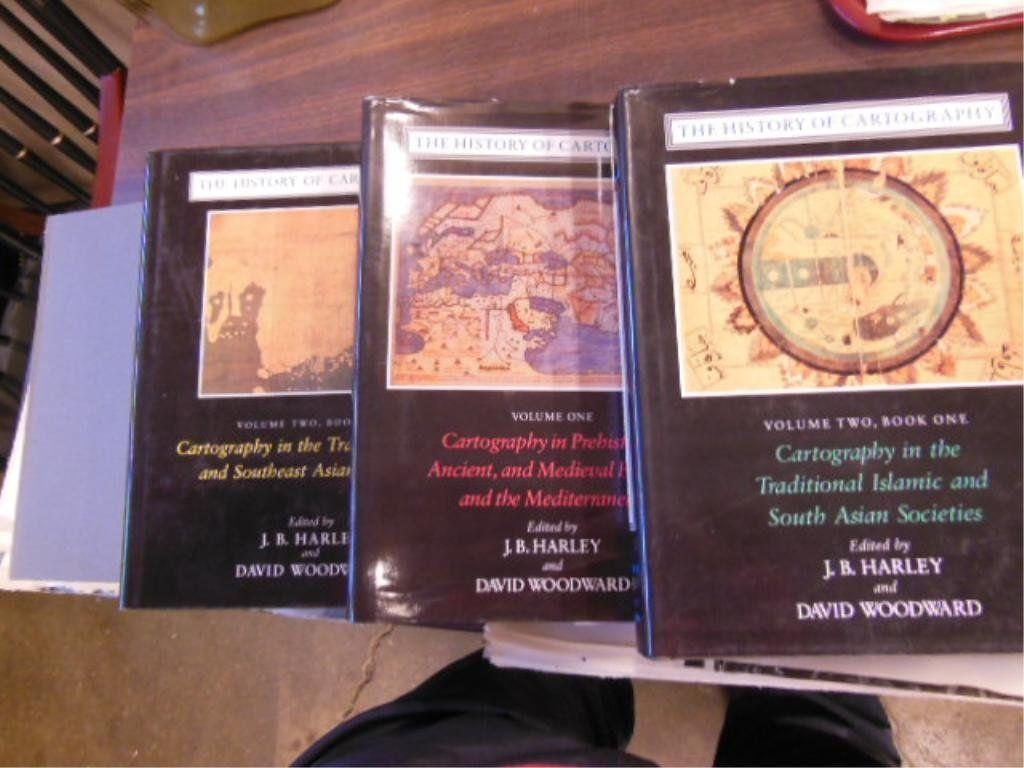 4 Vols History of Cartography
