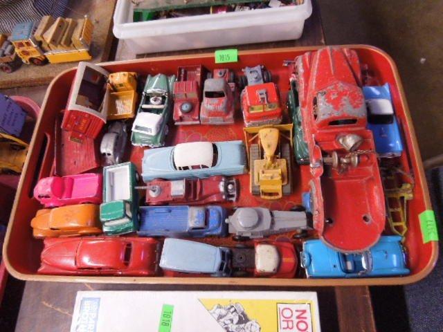 Assorted Metal Cars & Trucks