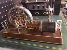 Large Steam Engine and Mechanical