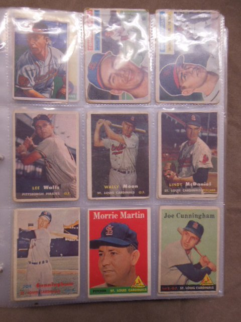 Assorted 1957-1969 Baseball Cards - 2