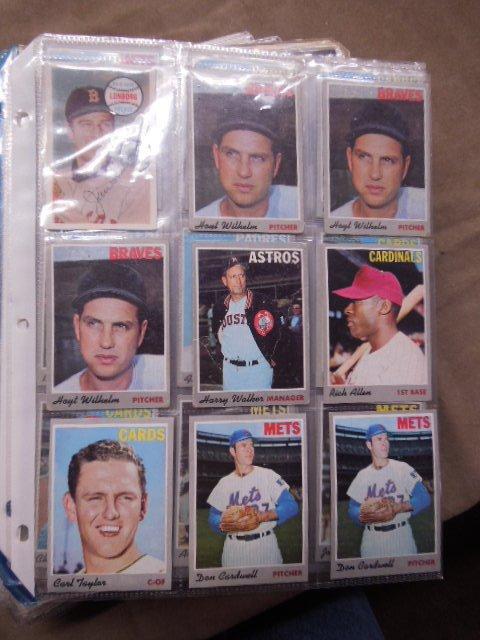 Assorted 1970-1976 Baseball Cards - 2