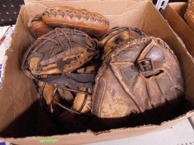 1930s & 1950s Baseball Catcher's Equipment