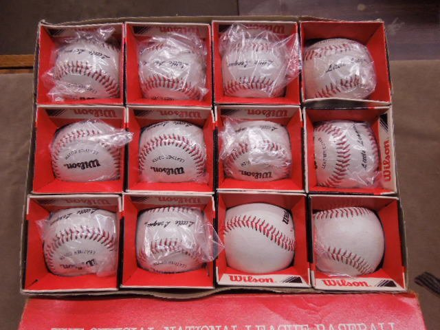 1950s-1980s Baseballs Lot