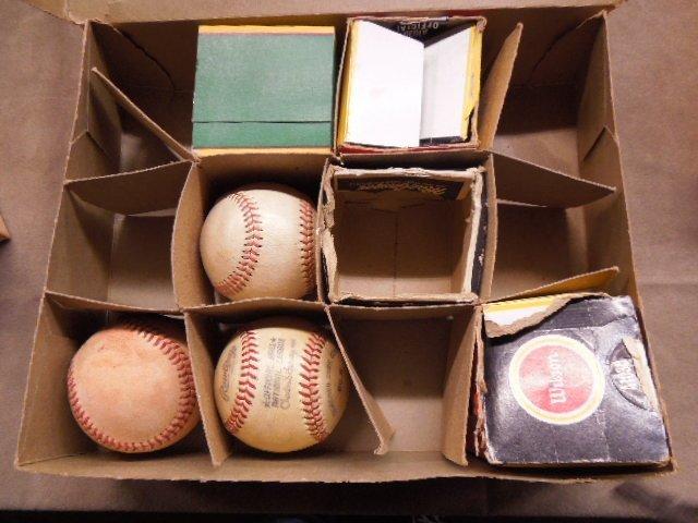 1950s-1980s Baseballs Lot - 2