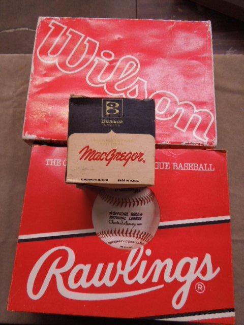 1950s-1980s Baseballs Lot - 4