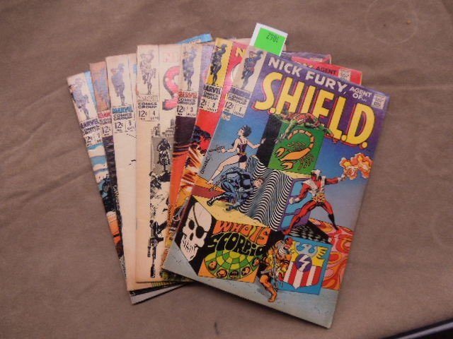 7 Comics Nick Fury No. 1-7
