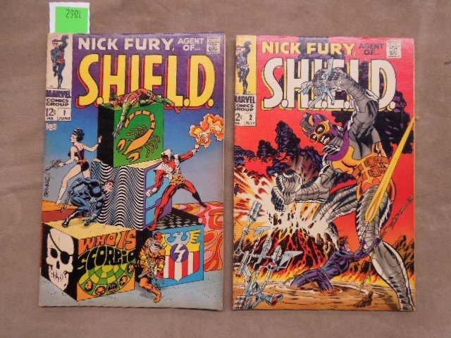7 Comics Nick Fury No. 1-7 - 2