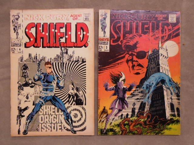 7 Comics Nick Fury No. 1-7 - 3
