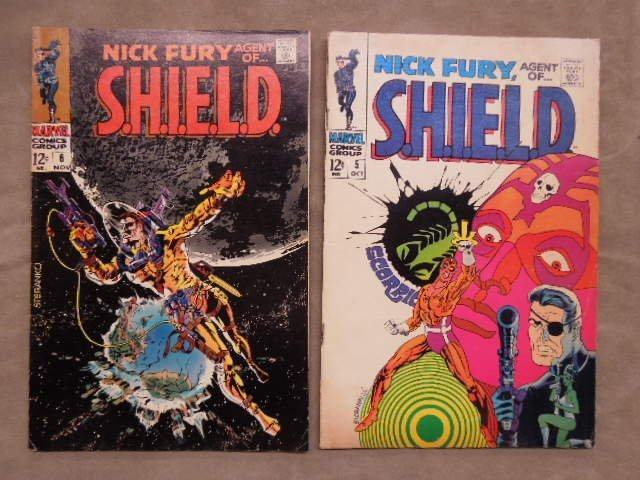 7 Comics Nick Fury No. 1-7 - 4