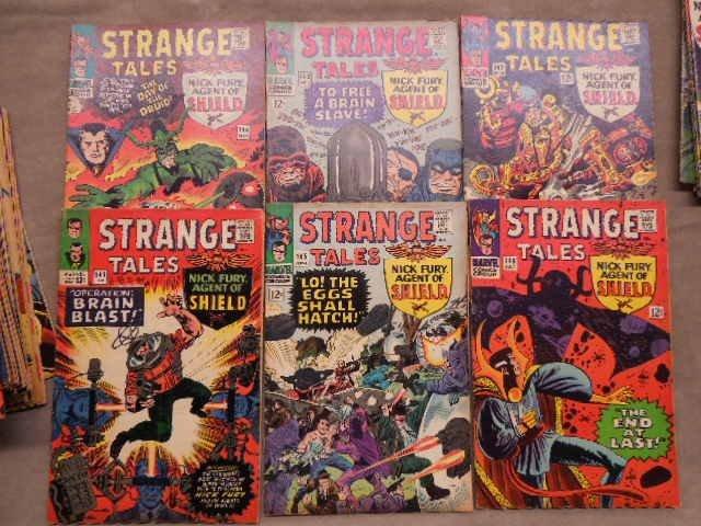 34 Comics - Strange Tales - 3